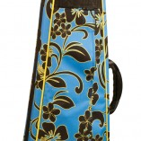 Lanikai Floral Hard Bag with straps hidden