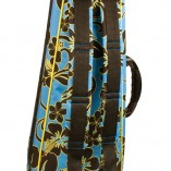 Lanikai Floral Hard Case with straps visible