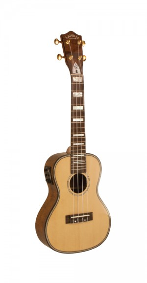 LKS-CEU Concert Solid Spruce USB Equipped