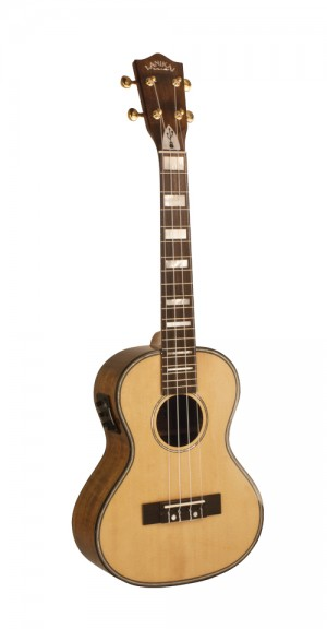LKS-TEU Tenor Solid Spruce USB Equipped