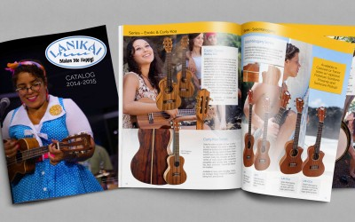 The Lanikai Ukuleles 2014 Catalog