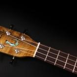 Manana tenor ukulele headstock