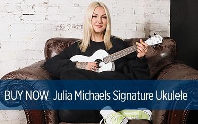Julia Michaels Signature Ukulele Buy Now!